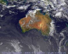 19:30 AEST  on Tuesday 27 January 2015 | Cloud/surface composite, Australia