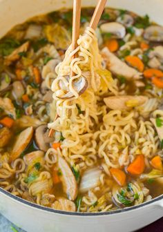 I'll try swaping out the dry ramen for fresh, or maybe rice noodles. Asian Chicken Noodle Soup | Cooking Classy