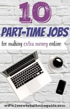 No matter what your employment status is, if you want to earn some extra money, taking on an online part-time job or more is the perfect way to go. www.freeworkathomeguide.com