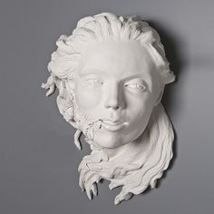 Different Porcelain Stuff Kate Macdowell, Shape Art, Porcelain Clay, Sculpture Clay, Ceramic Art, Garden Art, Digital Art, Statue, Portrait