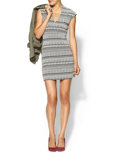 Rory Beca Spivey Ponte Fitted Dress | Piperlime