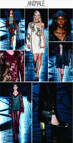 Animale - Inverno 2014 --  SPFW http://www.thefashionlineup.com/