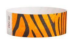 "1"" Tyvek Wristbands Assorted Designs"