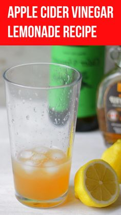 A really tasty lemonade that's made with fresh lemon juice and gut healthy apple cider vinegar. A great way to get the health benefits of this vinegar in a really tasty drink. Tastes a bit like komchuchabut can be made in seconds. Detox Juice Recipes, Smoothie Recipes, Cleanse Recipes, Smoothie Drinks, Chia Drink, Kefir Recipes, Detox Smoothies, Kiwi Smoothie, Turmeric Recipes