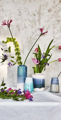Let your blooms blossom in this Florbella Vase.