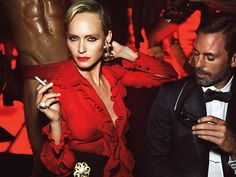 'La Secret Party' by Mert & Marcus for W Magazine September 2015 | The Fashionography