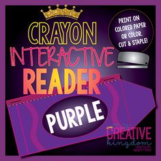 Purple Crayon Interactive Reader (IR) - My Creative Kingdom