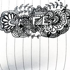 Dibujar me relaja Y a ti  que es lo que te relaja ?  Dejame tu comentario ! #bulletjournal #doodle #bujo #lifestyle #drawing #bn #relax