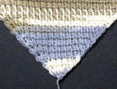 Diagonal Tunisian Crochet