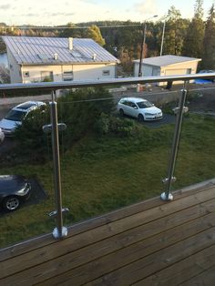 Snyggt räcke balkong/terass