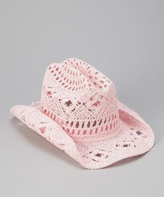 Take a look at this Pink April Cowboy Hat by Bullhide Hats on #zulily today!