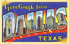 Greetings from Dallas, Texas – Vintagraph