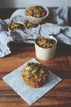 Gluteenittomat aamupala muffinssit