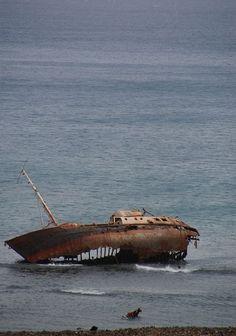 Rusting Wreck. I love adventures!!!