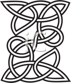 iCLIPART - Decorative Celtic Design Clipart Image