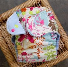 Butterfly weeds. Goodmama diapers
