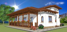 2014_12_CV Dec 04 Gazebo, Pergola, Modern Bungalow House, House Plans, Outdoor Structures, Mansions, House Styles, Interior, Romania