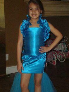 Pageant OOC Fashion Wear WOW Wear Hi Low Mermaid Costume 7 8 Chasing Fireflies   eBay