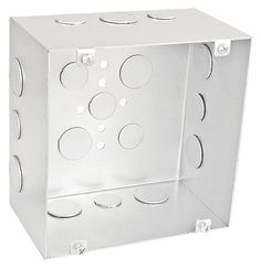 4 Square Extra Shallow Junction Box 1 1 4 In Deep 12