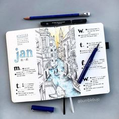 Are you looking for over amazing City themed bullet journal spreads to fill your journal? These are gorgeous and easy to create. These spreads are inspiring and will make you want to to travel! Travel Journal Scrapbook, Bullet Journal Travel, Bullet Journal Books, Bullet Journal Layout, Bullet Journal Ideas Pages, Bullet Journal Inspiration, Travel Journal Pages, City Journal, Travel Journals