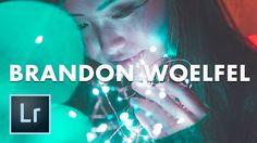 How to Make a Brandon Woelfel Look in Lightroom (Adobe Lightroom Preset ...