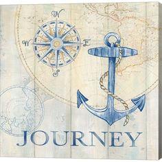Metaverse Sail Away Iii by Pamela Gladding Canvas Art Vintage Nautical, Nautical Art, Nautical Logo, Nautical Clipart, Nautical Prints, Nautical Design, Nautical Fashion, Nautical Wedding, Nautique Vintage