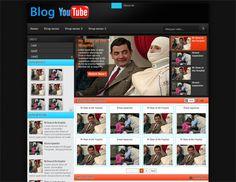 You Tobe Blogger Template Blogspot. Template de vídeo  You Tobe Blogger Template Blogspot. Template de vídeo