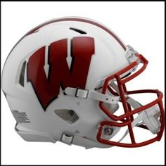 Wisconsin Badgers Authentic Revolution SPEED Football Helmet,