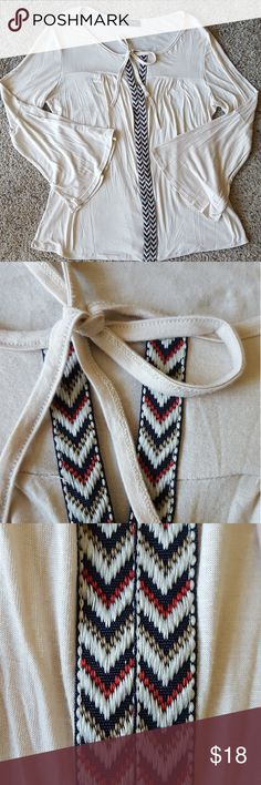 Modern Attraction Blouse Good condition, very flowy. No visible flaws; Modern Attraction Tops Blouses