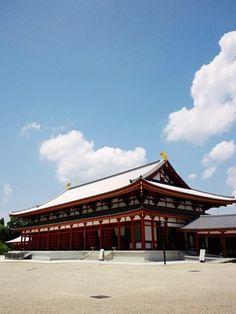 らくたび 若村亮 の 「 京都の旅コラム 」:≪ 青い空に沸き立つ雲 ≫ in 奈良・薬師寺
