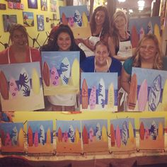 Wine Down Wednesday Paint Night at Bottle & Bottega