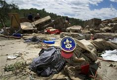 """Boy Scouts were prepared when a tornado ripped through their camp. """"Be Prepared"""" is their motto, and it should be yours, too."""