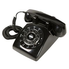 Telefone Classic London, Ribeiro e Pavani, Preto Telephone, Landline Phone, Antique Furniture, Home Accessories, Old Things, London, Classic, Total Black, Gadgets