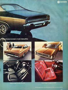 1972 VH Chrysler Valiant Regal 770 Sedan Ranger XL Wagon Regal 770 Hardtop Charger 770 & Hillman Page 2 Aussie Original Magazine Advertisement Chrysler Valiant, Wagon R, Aussie Muscle Cars, Chrysler New Yorker, Australian Cars, Dodge Chrysler, Sports Sedan, Car Advertising, Mopar