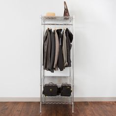 Hall Tree With Storage, Garment Racks, Wall Mounted Shelves, Wire Shelving, Break Room, Mobile Design, Event Venues, Regency, Wardrobe Rack