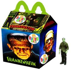 """""""Frankenstein"""" Happy Meal by Newt Clements"""