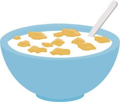 clip art of breakfast foods eat breakfast cereal bowls and cereal rh pinterest com Empty Bowl Clip Art empty cereal bowl clipart