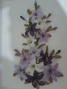 Our social Trends Silk Ribbon Embroidery, Hand Embroidery, Machine Embroidery, Jute Crafts, Diy And Crafts, Beaded Flowers, Diy Flowers, Wire Trees, Social Trends