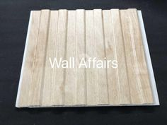 6 Groove Series, PVC Wall Panels are often best utilized to enhance damp walls as this is the only answer to the problem of moist walls. Brought to you by Wall Affairs. Pvc Ceiling Panels, Pvc Panels, Wall Decorations, Bamboo Cutting Board, Walls, Wallpaper, Phone, Design, Home Decor