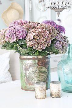 flowers.quenalbertini: Hydrangeas | Vibeke Design