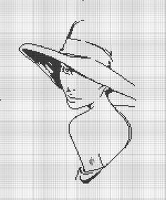 Ponto cruz [cross stitch] - [Note to self: sent to A. Cross Stitch Angels, Cross Stitch Bird, Cross Stitch Charts, Cross Stitching, Cross Stitch Embroidery, Cross Stitch Patterns, Filet Crochet, Blackwork, Portrait Au Crayon