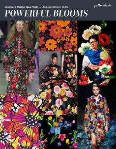 Première Vision New York – Autumn/Winter 18/19 Print & Pattern Trend Round Up