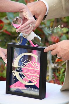 rustic inspired unity sand ceremony in glass jars at