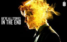 Fan-Made Flaming Matt Smith DOCTOR WHO Poster — GeekTyrant