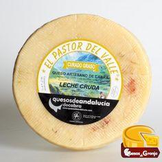 Queso curado de cabra de Leche Cruda El Pastor del Valle