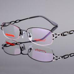 15286b6e34a Eyeglasses Frame Women Computer Optical Clear Glasses Myopia Prescription  Spectacle For Women s Transparent Lens Female