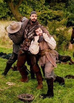 Looks like Porthos has his hands full [S2.E01]