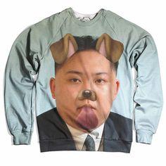 Kim Jong-un Selfie Sweater