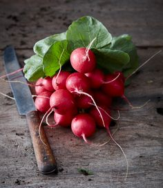 Don't let half of your radish go to waste! Did you know you can make a lovely soup with the leaves?