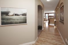 WestViews Builders | Highwood Villas | Calgary | Hallway Mountain View, Calgary, Villas, Bungalow, Windows, Spaces, Luxury, Home Decor, Homemade Home Decor
